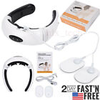 Back Neck EMS tens Massager Electric Pulse Far Infrared Pain Relief Health Relax
