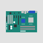 MOTHER BOARD FOR DL380R01 P667-256 128