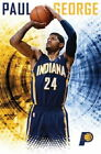 129493 Paul George Indiana Pacers NBA Decor LAMINATED POSTER CA on eBay
