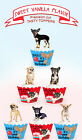 Angry Growling  Birthday CHIHUAHUA Puppy pup Dog Party Cupcake Toppers cup cake
