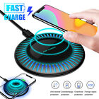 10W Qi Wireless Fast Charger Charging Pad Mat Dock for iPhone Samsung Cell Phone