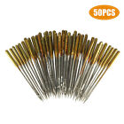 50/100 Assorted Home Sewing Machine Needles Craft for Brother Janome Singer Tool