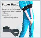 A99 Golf Super Band III Swing Practice Band Black Training Aid Indoor Outdoor