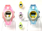 Children Digital Wrist Watches Kids Multicolour Watch Time Date Gift Fashion Uk image