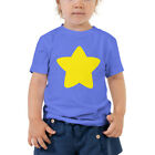 Steven Universe Inspired Yellow Star Cosplay Toddler Short Sleeve Tee