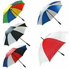 Unisex Large Golf Umbrella Windproof Rain Sun Strong Wind Shield Brolly Lot