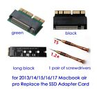 M.2 nVME SSD Card for Upgrade MacBook Air 2013-2017 PRO Late 2013-2015 new