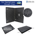 Replacement Case for GameCube Disc Small Game Spare Single CD Game Box Black