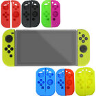 Soft Silicone Case Cover Skin Protector Kit Set Accessories For Nintendo Switch