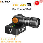 COMICA CVM-VS09 Condenser with Monitor recording Video Microphone for smartphone