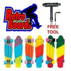 Retro Boards Complete Penny Style 22 Inch Faded Trio Colored Skateboard for Kids image