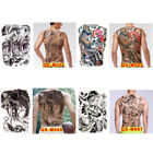 Huge design full back temporary tattoo large body art waterproof stic Tu $4.47 USD on eBay