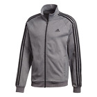 Men's adidas 3 Stripe Zip Up Track Jacket - Gray