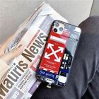 Smart LED Phone Case for iPhone compatible w/ Sup & Off White