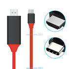USB 3.1 Type C to 4K HDMI HDTV AV TV Adapter Cable for Samsung Galaxy S9 S8 LG