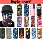 Kyпить  Unisex Face Mask Tube Scarf Bandanna Paks  Neck Gaiter Snood Head wear Adult  на еВаy.соm