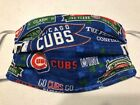 Adult Chicago Cubs Street Signs Reusable Face Mask Washable Cotton Handmade on Ebay