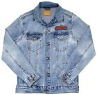 New Universal Studios Retro Marquee Logo 30th Anniversary Denim Jacket S-2XL