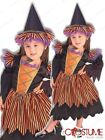 Storybook Witch Girls Costume Toddler Fancy Halloween Dress Child Party Outfit