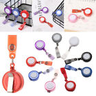Anti-Lost Clip ID Name Card Keychain Clip Lanyards Badge Holder Retractable