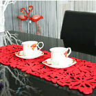 Fashion Felt Table Mat Placemat Home Pad Couster New Round Design Tablecloth O3