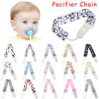 Anti-drop Rope Infant Colorful Pacifier Chain Soother Baby Teething Dummy Clips