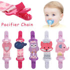 Towel Dummy Holder Pacifier Chain Pacifiers Clip Handkerchief Clips Comfort Toy