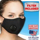 ADULT Face Mask Triple Layers 100 Cotton Washable Reusable With Pocket