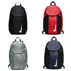 'Nike Academy Team Sports Football Gym Backpack Black Red Navy