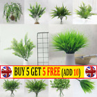Artificial Plants Fake Leaf Foliage Bush Home Office Garden Wedding Decors Ar