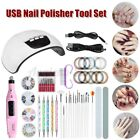 Nail Dryer LED Lamp UV Light Nails Polish Gel Machine Electric Manicure 45W-US