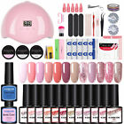 KOSKOE 8ml UV Gel Nail Polish Set 36W UV LED Nail Dryer Tips Extension Gel Tools