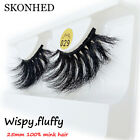 Makeup Tools Thick Long Eye Lash Extension False Eyelashes 100% 3D Mink Hair