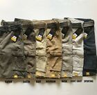 NWT Lee Men's Wyoming Cargo Shorts Belted Dungarees Twill Cotton All Color Sizes