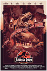 Jurassic Park Film When Dinosaurs Ruler The Eath Movie Show Poster (no Framed)