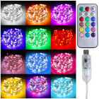 96/100/300LED Xmas String Fairy Light Hanging Icicle Curtain Lights Waterproof