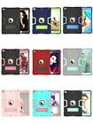 For iPad Air 10.5 3rd Gen 2019 Silicone Shockproof Stand Armor Hybrid Case Cover