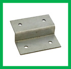 60mm x 56mm x 15mm Fence Panel Z Clip Trellis Brackets Secure Galvanised Packs