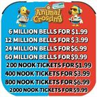 Animal Crossing:New Horizons Bells, Nook Miles Tickets, Fish Bait Fast Delivery~