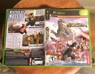 MICROSOFT ~ XBOX VIDEO GAME COLLECTION ~ MATURE ACTION ADVENTURE + MANUALS !!!