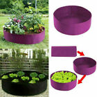 Round Fabric Garden Raised Planting Grow Beds Tomato Vegetable Plants Grow Bags
