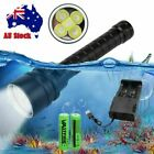 20000Lm LED Scuba Diving Flashlight Waterproof Underwater Diving Torch Light