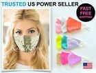 Kyпить Fashion Party Face Mask Bling Sequin Wedding Shiny Sparkly Glitter Washable USA на еВаy.соm