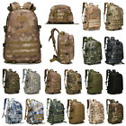Tactical Backpack 3D Hiking Camping Day Pack Camo Military Trekking Rucksack 40L