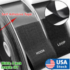 Внешний вид - 4 inch 5 Feet Self Adhesive Tape Hook and Loop Fastener Extra Sticky Back USA