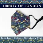 Kyпить Liberty of London Origami/3D Folding Face Mask-Strawberry Thief Fabric-nose wire на еВаy.соm