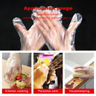 100/200/500PC Plastic Clear Gloves Food Cleaning Catering Kitchen Waterproof