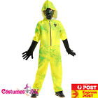 Child Hazmat Suit Jumpsuit Halloween Lab Walter Hazard Kids Breaking Bad Costume