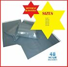 GREY Postal Packaging Bags Plastic Parcel Mailing Packing Envelopes Polythene