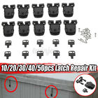 US 10/20 Set Spa Hot Tub Cover Broken Latch Repair Kit Clip Lock w/ Key &